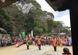四條畷の楠公祭り
